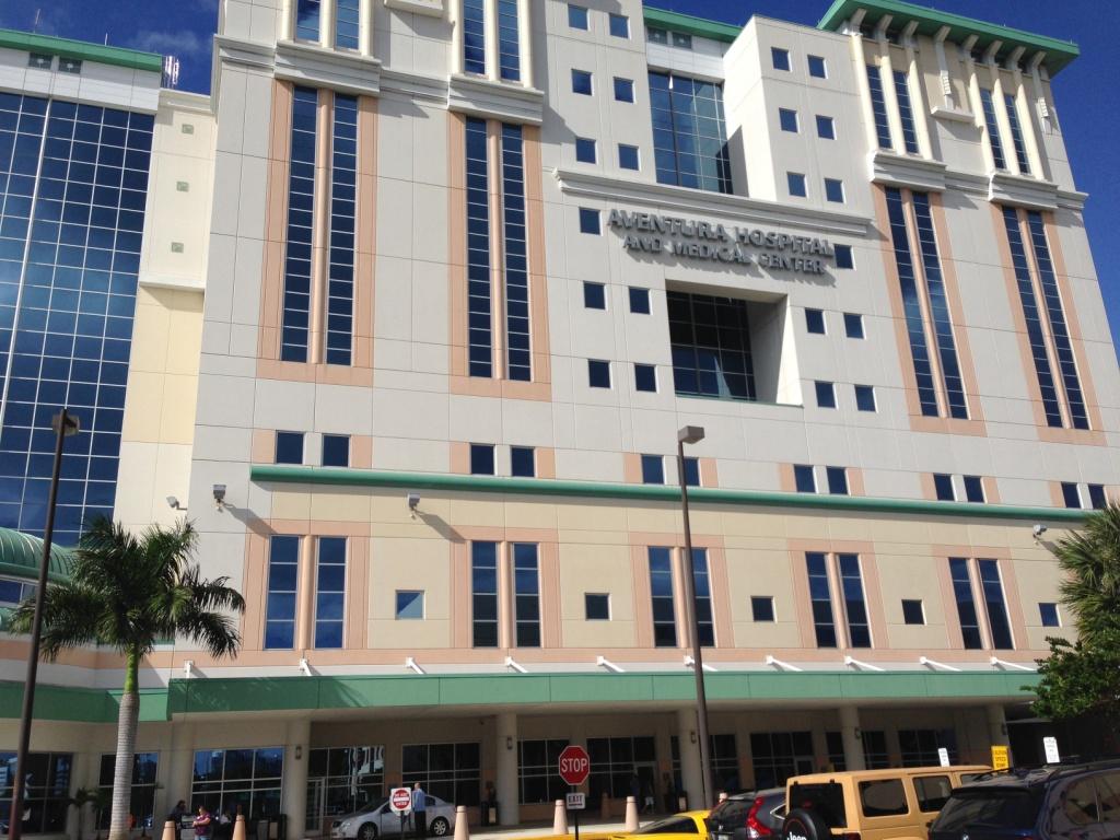 Госпиталь Авентура в Америке - проведение родов в Майами