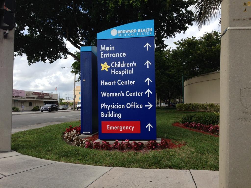 Роды в Майами в госпитале Broward General Medical Center